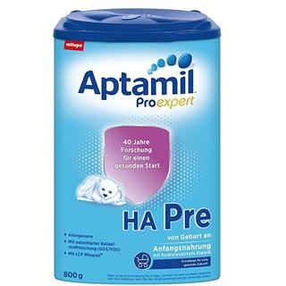 Aptamil 爱他美 ProExpert HA免敏奶粉 pre段 800g 4罐装