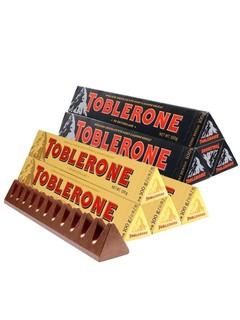 TOBLERONE 瑞士三角 牛奶100g+黑巧克力100g