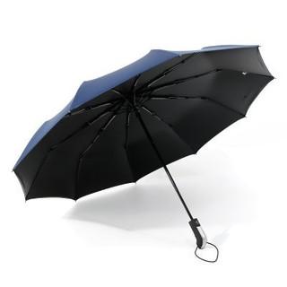 Yandex 全自动10骨黑胶折叠遮阳伞