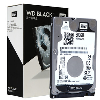 7日0点 : WD 西部数据 黑盘 500G SATA6Gb/s 7200转32M 笔记本硬盘(WD5000LPLX)