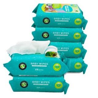 小树苗 婴幼儿柔湿巾 25抽*6包 +凑单品