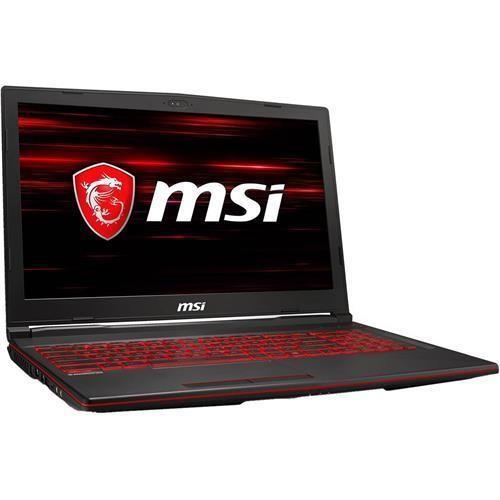 MSI 微星 GL63 5.6英寸 笔记本电脑 (黑色、酷睿i7-8750H、8GB、128GB SSD+1TB HDD、GTX 1050Ti 4G)