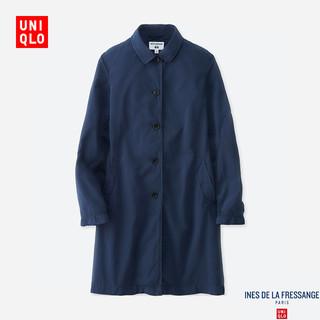 库存有限、新低价 : UNIQLO 优衣库 IDLF系列 407010 女士风衣