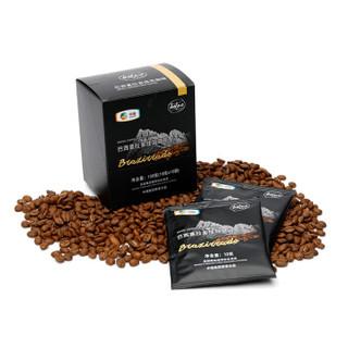 中粮 珂菲·诺(Kofno)巴西喜拉多挂耳咖啡 进口阿拉比卡无糖黑咖啡10袋 *10g(满199-100后)