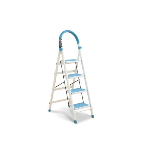 HAGGIS 4层加厚折叠梯 蓝色