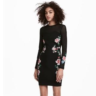 H&M HM0573378 女士刺绣连衣裙