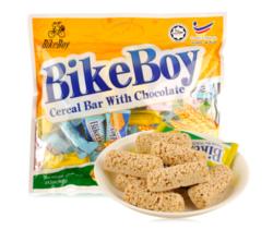 马来西亚进口 BikeBoy 燕麦巧克力 燕麦棒 400g *13件