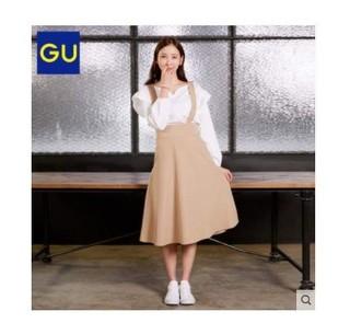 GU 极优 299932 领口套头衫