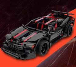 星堡积木 MOC系列 Assassin X19 XB-07003 未来跑车 暗杀者