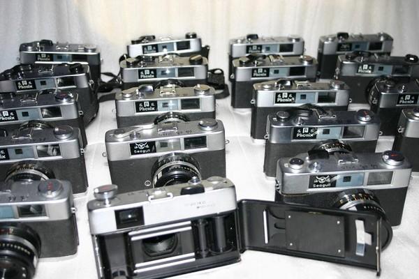 205旁轴相机家族,可以看到其中还有海鸥生产的205机型