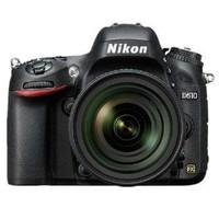 京东PLUS会员:Nikon 尼康 D610 全画幅 单反相机 套机(AF-S 24-120mm f/4G ED VR)