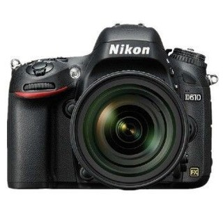 Nikon 尼康 D610(24-120mm f/4G)单反相机套机 (全画幅、2426万)