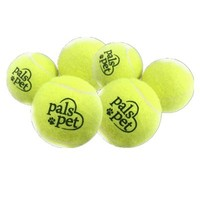 Pals pet 1501 网球玩具犬用 4只装