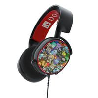steelseries 赛睿 Arctis 寒冰5 DOTA2主题限定 游戏耳机
