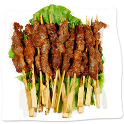 东来顺 香辣牛肉串 400g/袋(约20串)调理肉串(羊肉串同价)