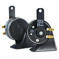 DENSO 电装 汽车喇叭 272000-8650 黑色 蜗牛双插喇叭