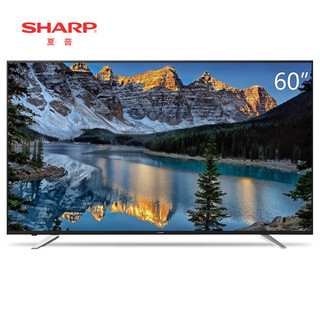 SHARP 夏普 LCD-60SU470A 60英寸 4K液晶电视