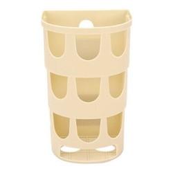 家杰 创意厨房用粘胶壁挂垃圾袋收纳篮 垃圾袋挂式抽取盒 JJ-SN301 *21件