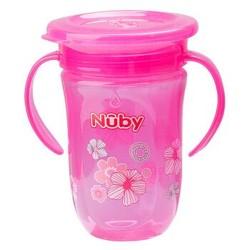努比 宝宝防漏学饮杯 270ml 粉色 *6件