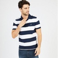 NAUTICA 诺帝卡 WIDE STRIPE CLASSIC FIT 男士POLO衫