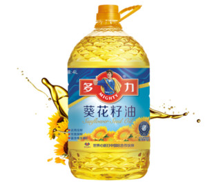 MIGHTY 多力  葵花籽油  4L