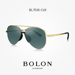 BOLON 暴龙 BL7030  复古飞行员墨镜