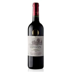 国美自营 法国波尔多原装进口 吕颂城堡干红葡萄酒750ml