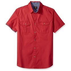 Lee 李 男士混棉短袖衬衫