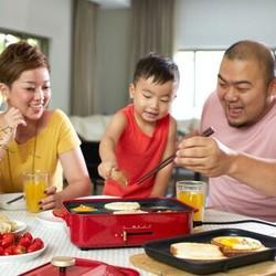 多样屋(TAYOHYA)妙厨铁板烧盘 锅具套装电烤炉煎烤机 电烧烤炉家用煎锅