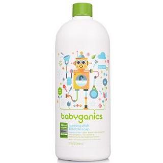 BabyGanics 甘尼克宝贝 奶瓶餐具清洁液补充装 946ml *2件