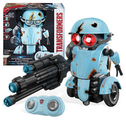 Hasbro 孩之宝 变形金刚电影5 C0935 小摩托 遥控机器人