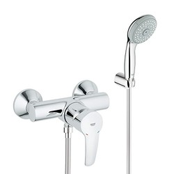 GROHE 高仪 欧瑞士达冷热水四式手持淋浴花洒套装