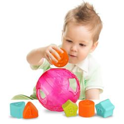 Playgro 派高乐 益智玩具 早教启蒙积木数字形状配对球