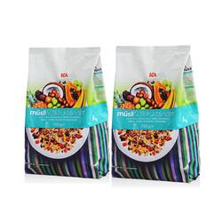 ICA 50%水果坚果果仁燕麦片 750克 2袋