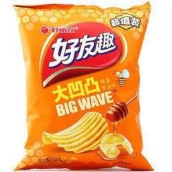 Orion 好丽友 薯片 好友趣大凹凸蜂蜜黄油味 125g *2件