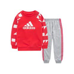 adidas kids 阿迪达斯 男女婴童 婴童针织套服