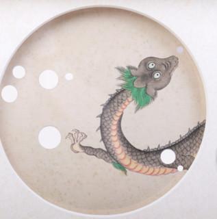 PALACE MUSEUM 故宫 紫禁城海底世界 海错图木框装饰画