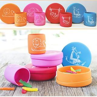 Modern+Twist 婴儿硅胶餐具组合