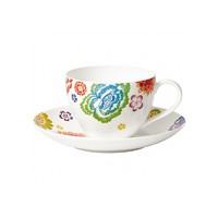 Anmut Bloom 咖啡杯碟套装 200毫升