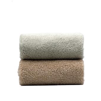 京造 埃及长绒棉毛巾 2条装  76*34cm*130g