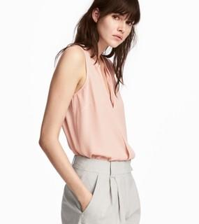 H&M HM0596122 女士V领T恤