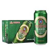 青岛啤酒(Tsingtao)经典10度500ml*12听 大罐整箱装(新老包装随机发放)
