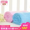 良良冰丝毯 宝宝竹纤维盖毯 新生儿空调毯柔软轻薄凉爽透气毯 180元