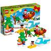 LEGO 乐高 得宝系列 10837 圣诞老人的寒假 *2件 338元(合169元/件)
