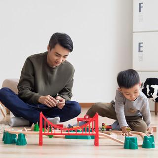 移动端 : 小米米兔轨道积木火车