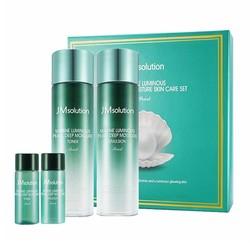 JM solution 绿色海洋珍珠亮白水乳套装 (爽肤水130ml+乳液130ml+爽肤水30ml+乳液30ml)