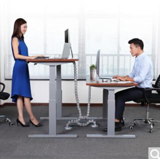Loctek 乐歌 E3电动升降桌 1.4m 银灰色