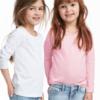 包邮 H&M 儿童长袖T恤 2件装 44.9元