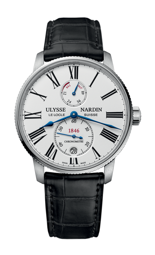 ULYSSE NARDIN 雅典 Marine 航海系列 1183-310/40 男士机械腕表