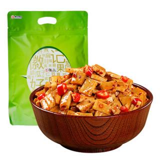 好巴食 休闲零食 四川小吃 辣味装豆腐干750g *4件+凑单品